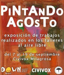 "Carte ""Arte al aire libre"""